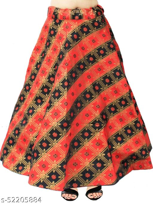 Alisha Attractive Women Ethnic Skirts