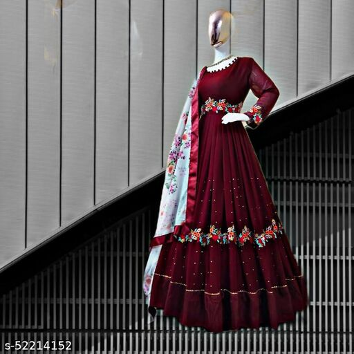 Satrani NAVRATRI SPECIAL  Women's silk Lehenga Choli