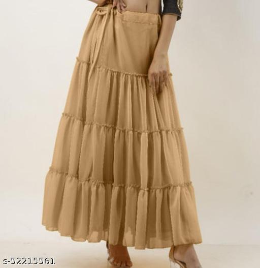 Fashionable Fashionista Women Western Skirts