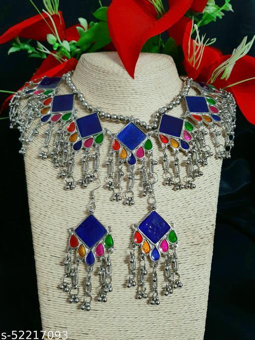Diva Crystals Kholapuri Silver Jewellery Sets.