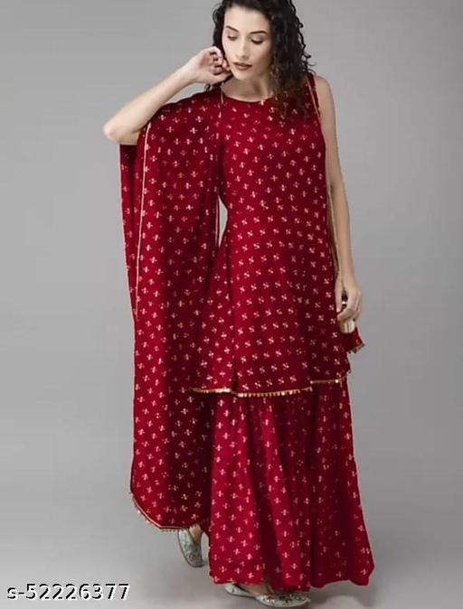 Festive Wear Stylish Kurta Set with Dupatta