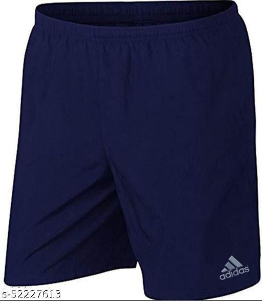 Men's Soft and Stretchable Active Shorts, Boxer (Blue Color, 1 Piece)