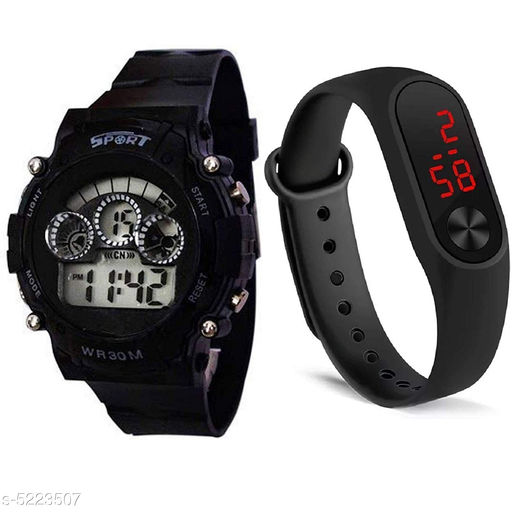 Beautiful Watches Combo For Kids  Boys ( Pack Of 2 )