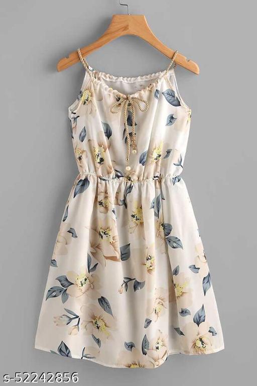 Piermart Women's Fit And flare Fancy Knee Length One-Piece Dress