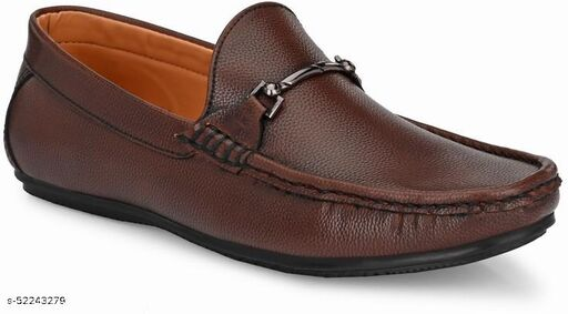 Peclo Tan Loafer Shoe for Mens Loafers For Men(1064)