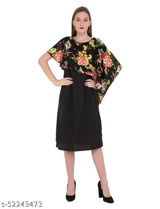 Fashionista Scarf Cape Dress