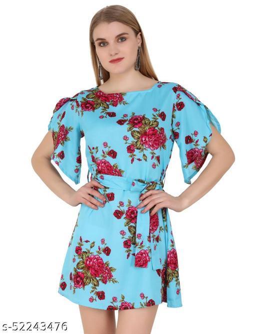Stylish Petal Dress