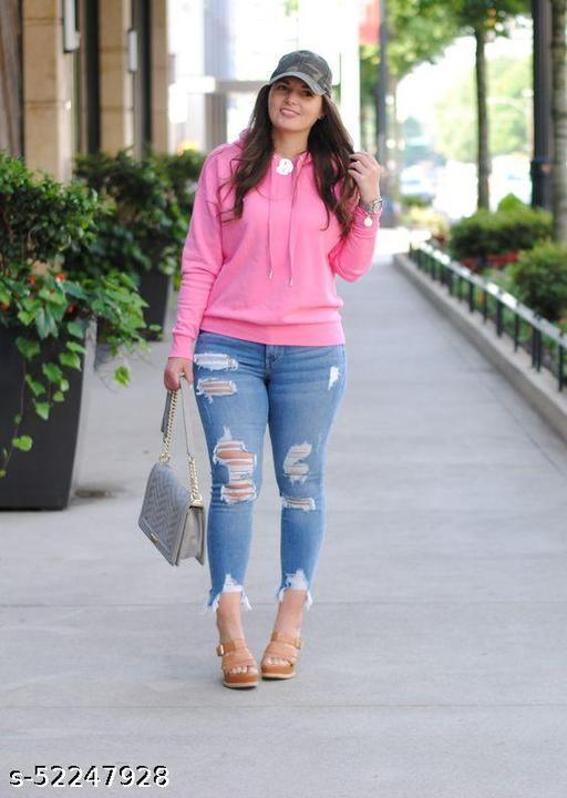 Stylish Sensational Women Sweatshirt
