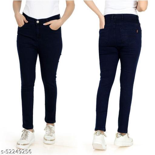 High Waist Women's Jeans