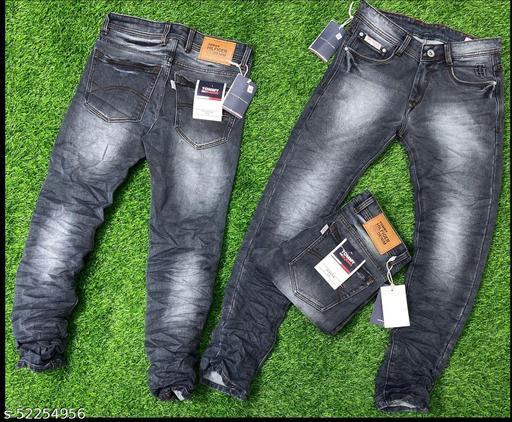 Elegant Unique Men Jeans