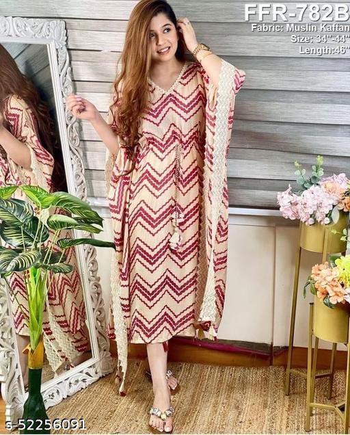 WOMEN'S BRANDED KAFTAN DRESSES