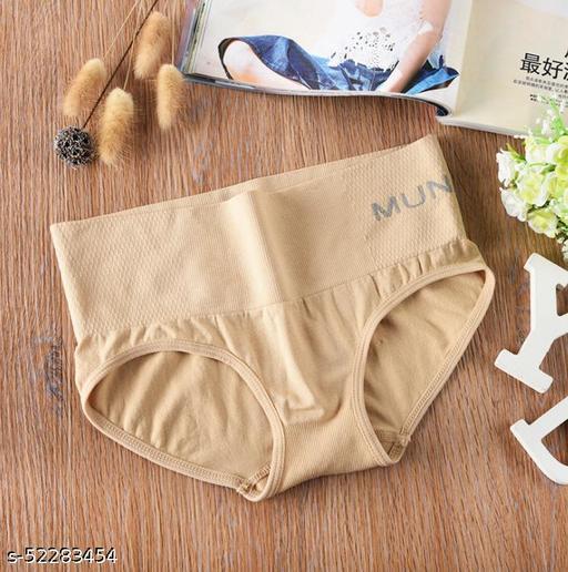 Women's Cotton Silk Waist Bikini Panty