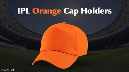 Oange solid cap pure cotton