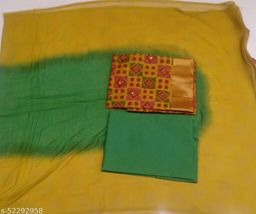 Women and girl Fancy cotton dress material