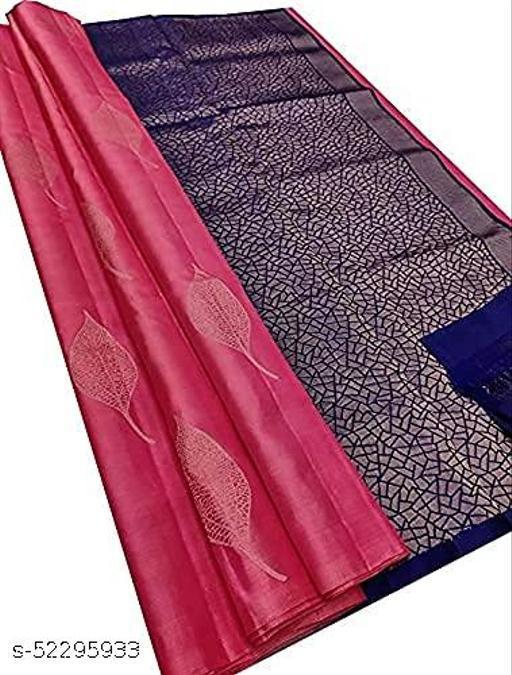 Trendy Sensational Designer Banarasi Silk Saree.