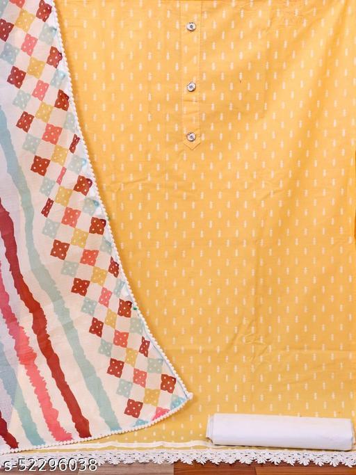 Aagam Pretty Semi-Stitched Suits