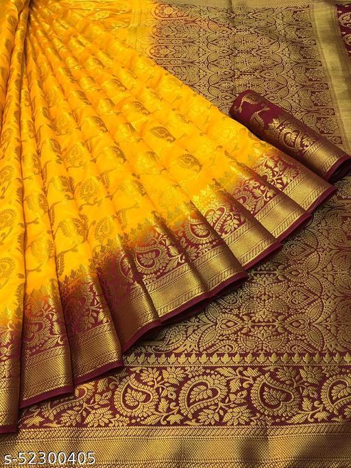 Embellished Kanjivaram Art Silk Saree