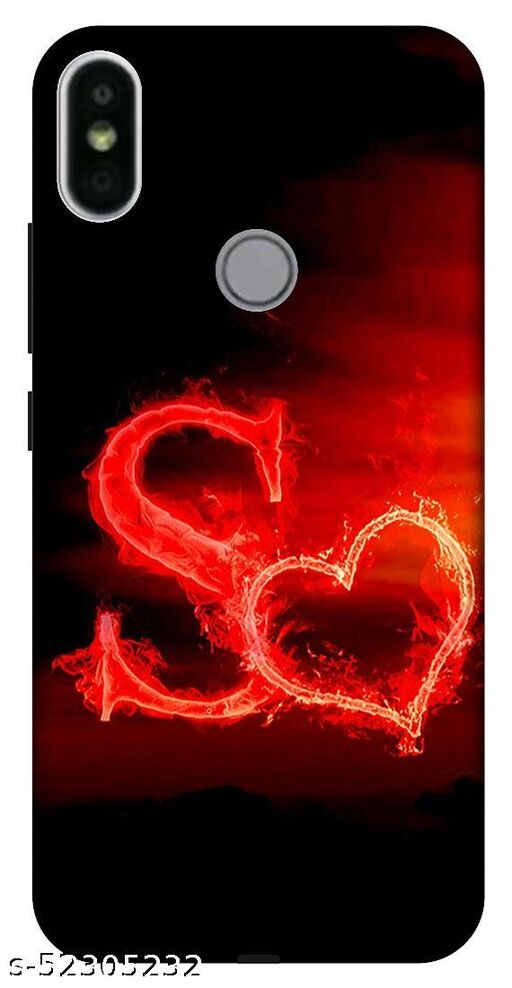 VS Print link back cover for Redmi Y2 (S letter,S word