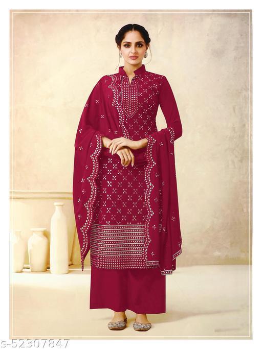 Myra Ensemble Semi-Stitched Suits