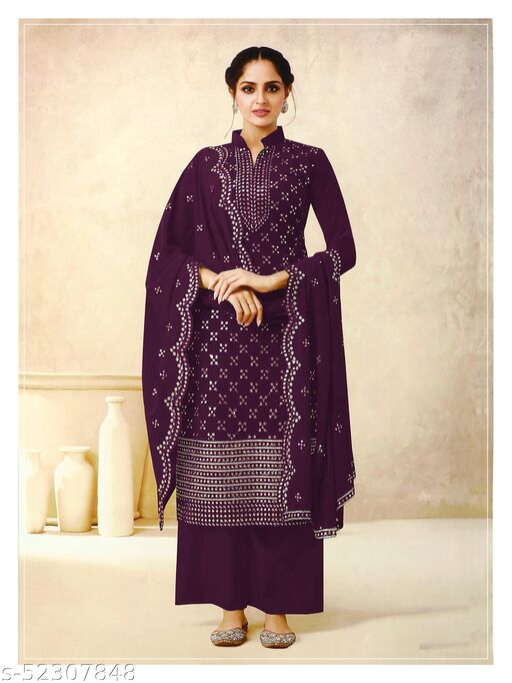 Kashvi Superior Semi-Stitched Suits