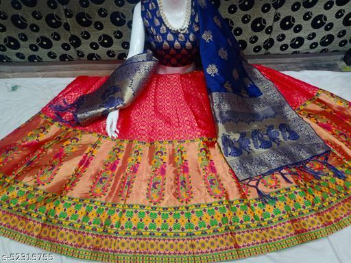 Aagam Drishya Women Lehenga