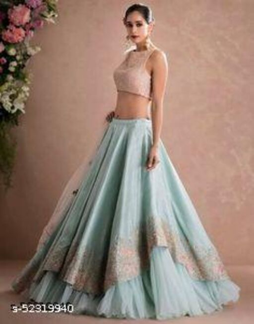 Aagam Attractive Semi-Stitched Suits