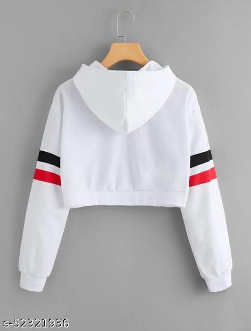 SHUBHAM FAB. STYLIST HOODIE WITH LONG SLEEVES IN FOUR STRIP DESIGN Sweatshirts