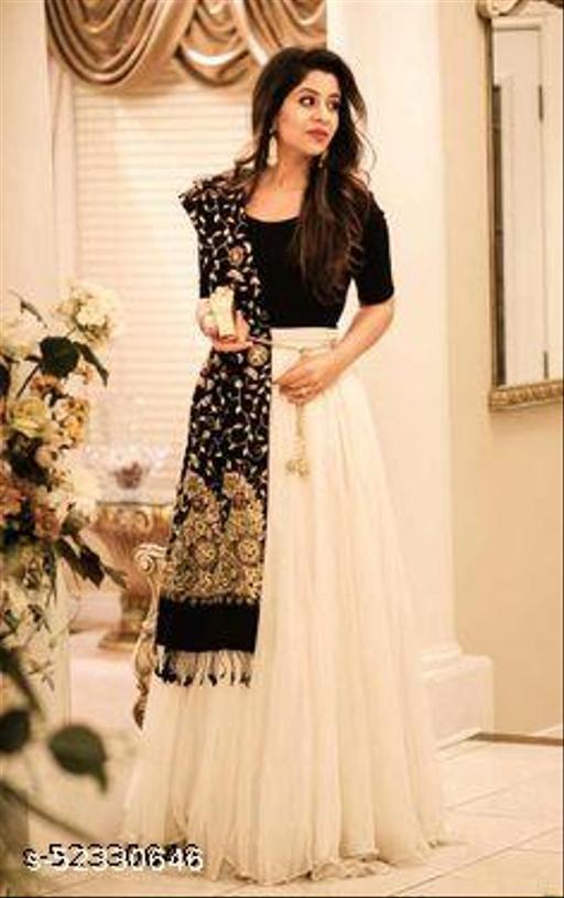 Trendy Drishya Semi-Stitched Suits