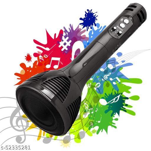 Wireless Bluetooth Karaoke Microphone, Portable Handheld karaoke Mic (Black)