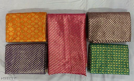 Banarasi Jacquard 5 Combo Blouse Piece