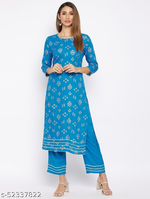 Beautiful Printed Lacework With Bottom