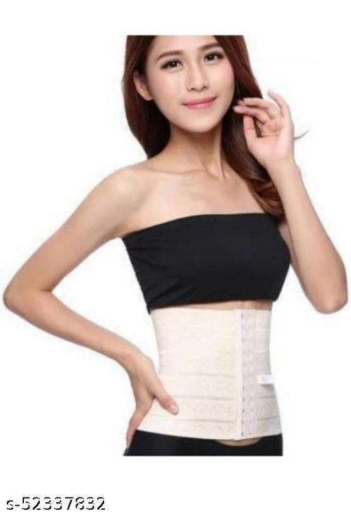 Women's Nylon Spandex Trimmer Tummy Slim Belt