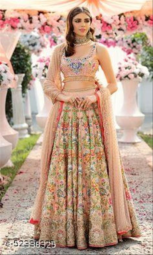 Alisha Pretty Semi-Stitched Suits