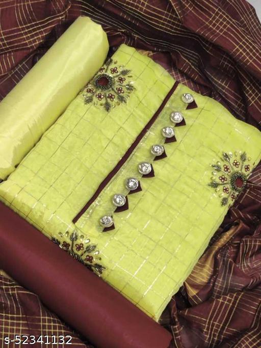 Alisha Superior Semi-Stitched Suits