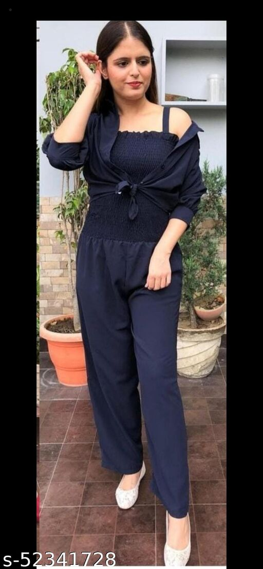 Classic Graceful Women Jumpsuits