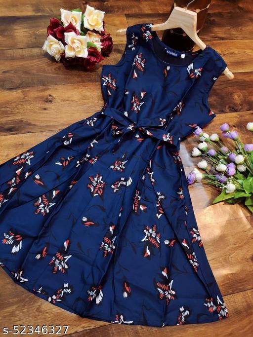 Comfy Retro Women Dress
