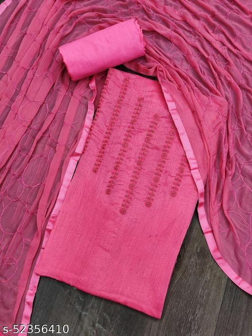 Jivika Ensemble Semi-Stitched Suits