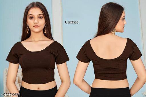 Fancy summer Lycra Cotton Women's Blouse