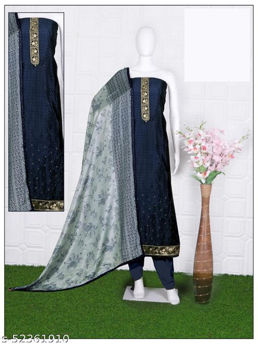 Designer Jaquard Salwar suit