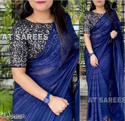 Shivanya Designer Weightless plain saree