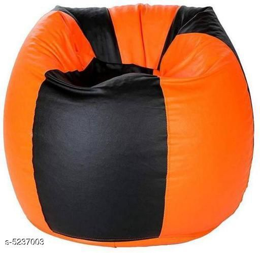 Casual Trendy Leatherette Bean Bags