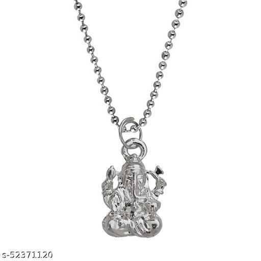 Lord Ganesh Chintamani  Vighneshwara Moriya Locket With Chain