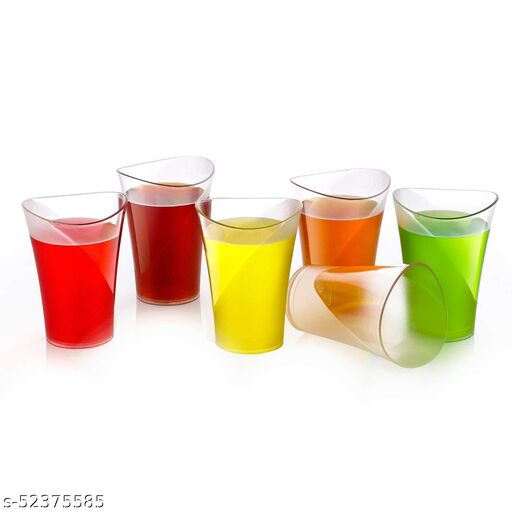 Colorful Water & Juice Glasses