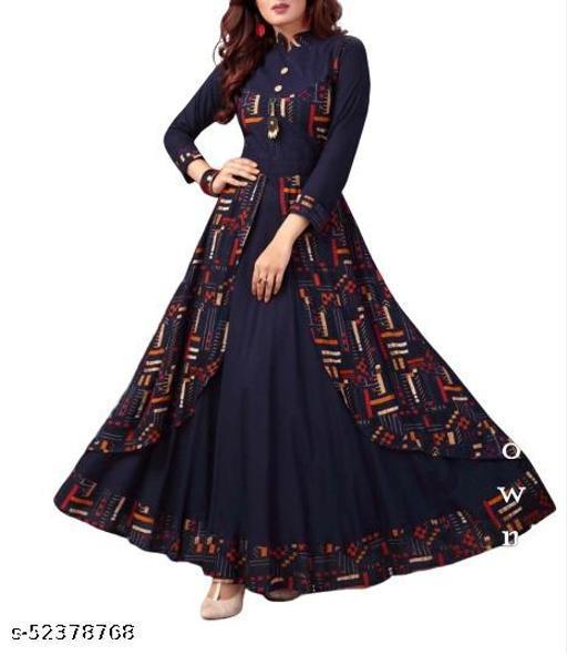 woman's fancy gown