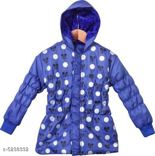 Jackets & Coats Beautyfull Kids Girls Jackets Vol 1  *Fabric* Polyester  *Sleeve Length* Long Sleeves  *Pattern* Printed  *Multipack* 1 It Has 1 Piece Of Kids Girls Jacket  *Sizes*   *1-2 Years (Bust Size* 18 in)  *3-4 Years (Bust Size* 20 in)  *8-9 Years (Bust Size* 24 in)  *12-18 Months (Bust Size* 16 in)  *7-8 Years (Bust Size* 22 in)  *9-10 Years (Bust Size* 26 in)  *Sizes Available* 2-3 Years, 3-4 Years, 6-7 Years, 7-8 Years, 8-9 Years, 9-10 Years, 12-18 Months, 18-24 Months, 1-2 Years *    Catalog Name: Cute Elegant Girls Jackets & Coats CatalogID_776053 C62-SC1153 Code: 624-5238332-