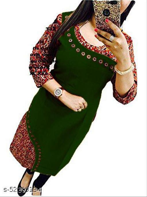 Womens Designer Cotton Kurti