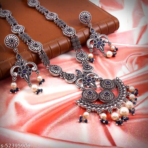Oxidized Necklace Set (ON20)