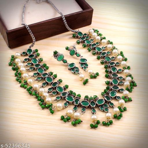 Oxidized Necklace Set (ON30)