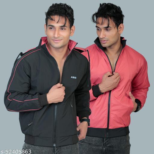 ABD Kingdom Men's Comfortable Reversible Jacket