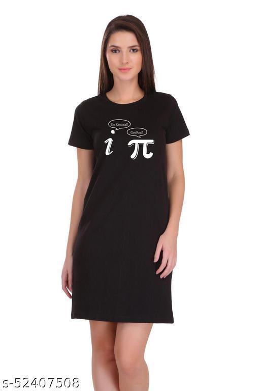 Knee Length T-Shirt Dress